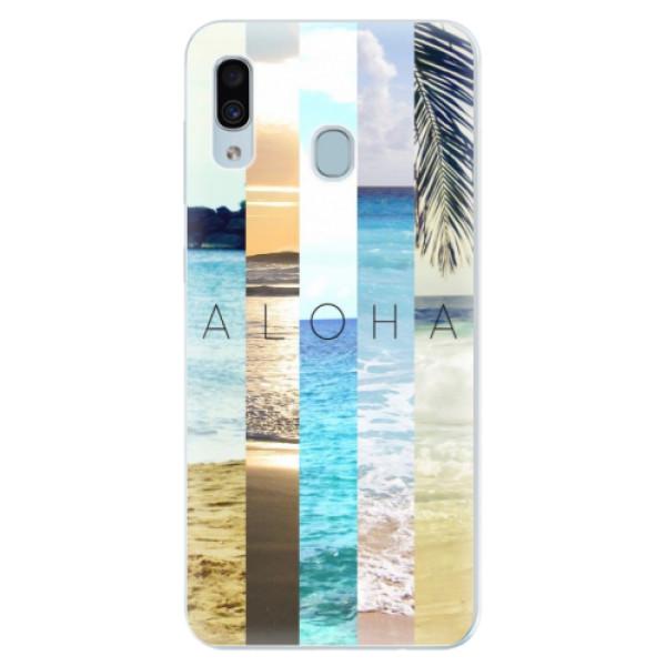 Silikonové pouzdro iSaprio - Aloha 02 - Samsung Galaxy A30