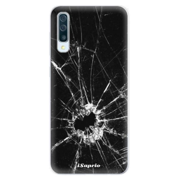 Silikonové pouzdro iSaprio - Broken Glass 10 - Samsung Galaxy A50