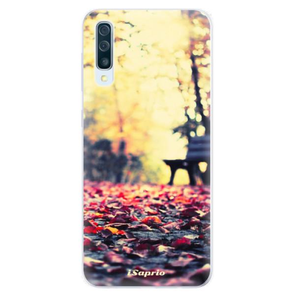 Silikonové pouzdro iSaprio - Bench 01 - Samsung Galaxy A50
