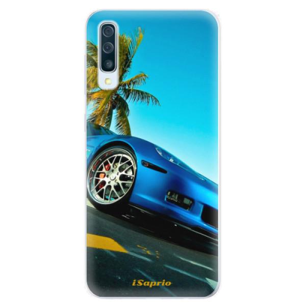 Silikonové pouzdro iSaprio - Car 10 - Samsung Galaxy A50