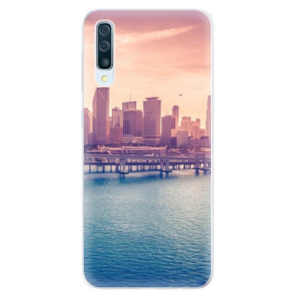 Silikonové pouzdro iSaprio - Morning in a City - Samsung Galaxy A50