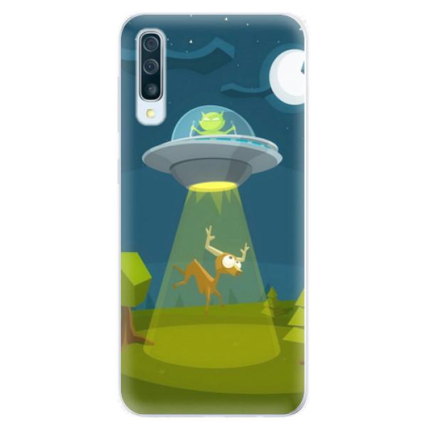 Silikonové pouzdro iSaprio - Alien 01 - Samsung Galaxy A50