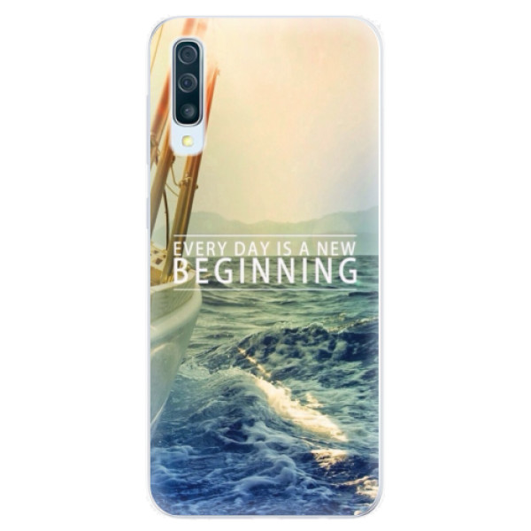 Silikonové pouzdro iSaprio - Beginning - Samsung Galaxy A50