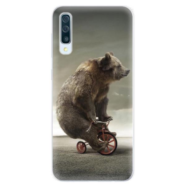 Silikonové pouzdro iSaprio - Bear 01 - Samsung Galaxy A50