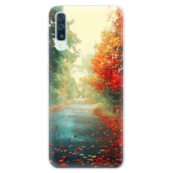 Silikonové pouzdro iSaprio - Autumn 03 - Samsung Galaxy A50