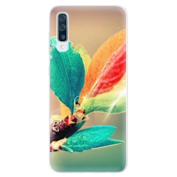 Silikonové pouzdro iSaprio - Autumn 02 - Samsung Galaxy A50