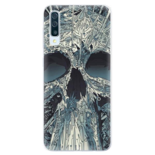 Silikonové pouzdro iSaprio - Abstract Skull - Samsung Galaxy A50