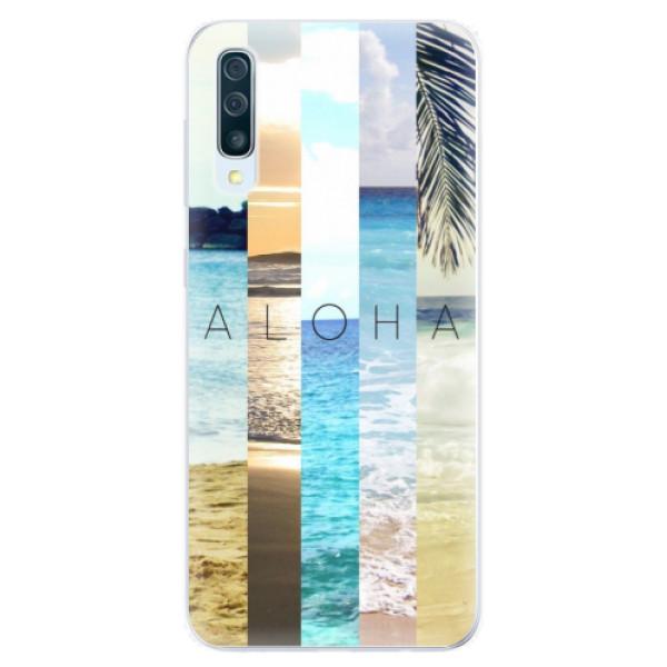 Silikonové pouzdro iSaprio - Aloha 02 - Samsung Galaxy A50
