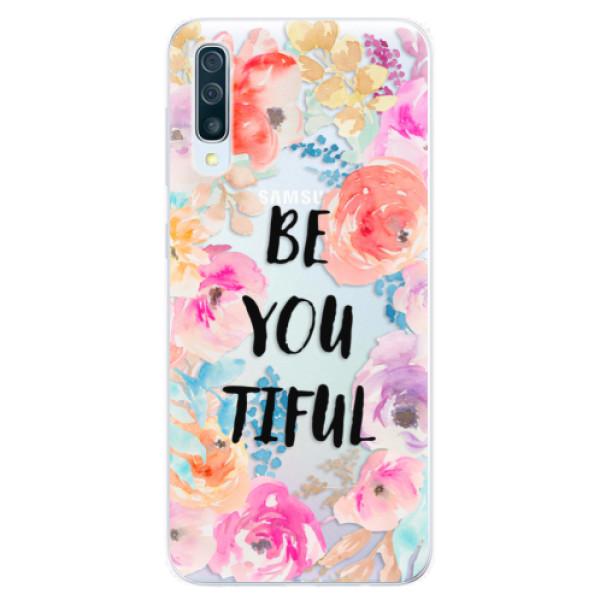 Silikonové pouzdro iSaprio - BeYouTiful - Samsung Galaxy A50