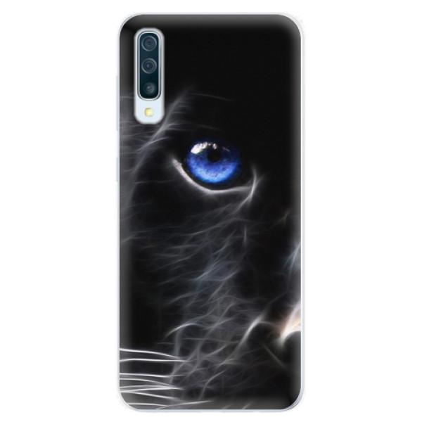 Silikonové pouzdro iSaprio - Black Puma - Samsung Galaxy A50
