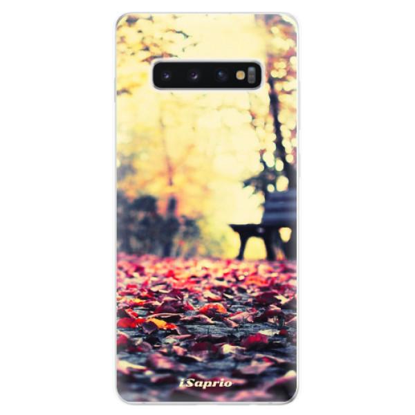 Odolné silikonové pouzdro iSaprio - Bench 01 - Samsung Galaxy S10+