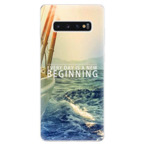 Odolné silikonové pouzdro iSaprio - Beginning - Samsung Galaxy S10+