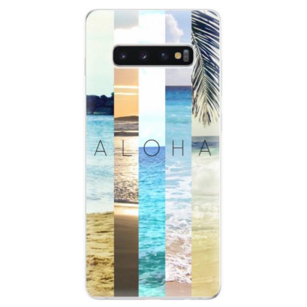 Odolné silikonové pouzdro iSaprio - Aloha 02 - Samsung Galaxy S10+