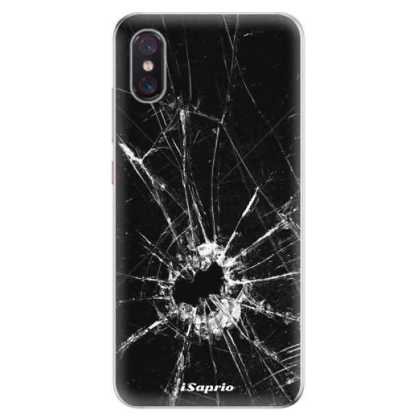 Odolné silikonové pouzdro iSaprio - Broken Glass 10 - Xiaomi Mi 8 Pro