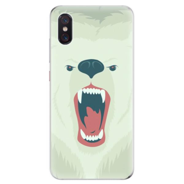 Odolné silikonové pouzdro iSaprio - Angry Bear - Xiaomi Mi 8 Pro