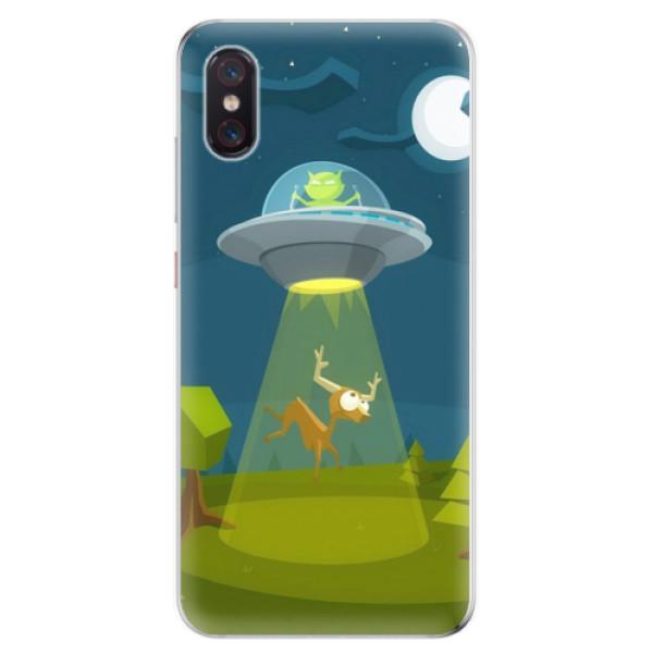 Odolné silikonové pouzdro iSaprio - Alien 01 - Xiaomi Mi 8 Pro