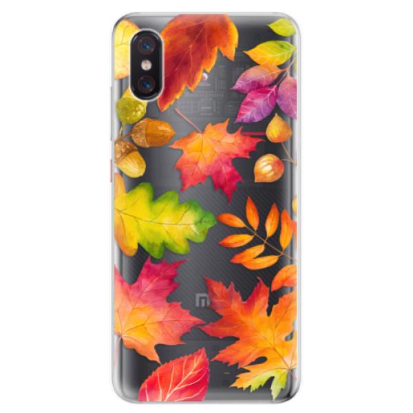 Odolné silikonové pouzdro iSaprio - Autumn Leaves 01 - Xiaomi Mi 8 Pro