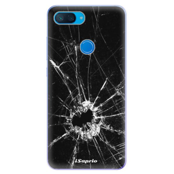 Odolné silikonové pouzdro iSaprio - Broken Glass 10 - Xiaomi Mi 8 Lite