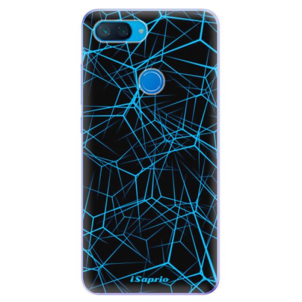 Odolné silikonové pouzdro iSaprio - Abstract Outlines 12 - Xiaomi Mi 8 Lite