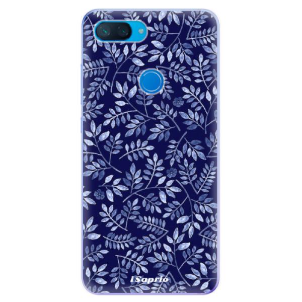 Odolné silikonové pouzdro iSaprio - Blue Leaves 05 - Xiaomi Mi 8 Lite