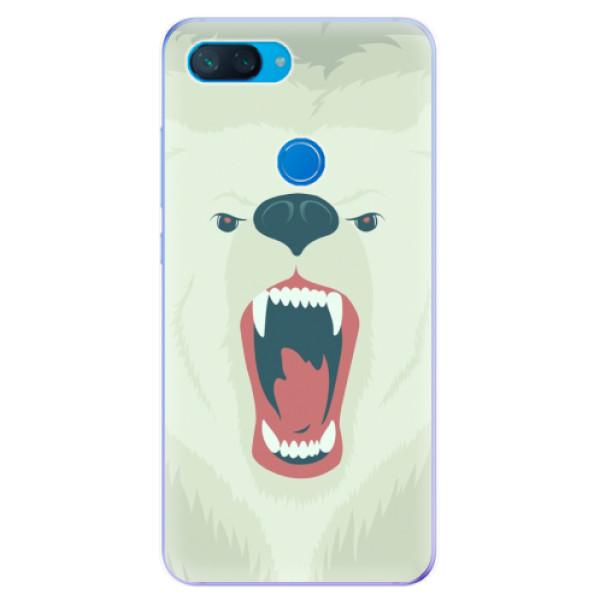 Odolné silikonové pouzdro iSaprio - Angry Bear - Xiaomi Mi 8 Lite