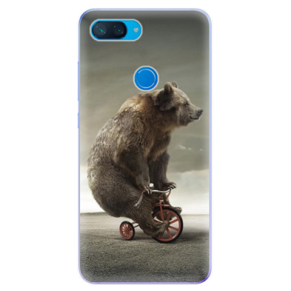 Odolné silikonové pouzdro iSaprio - Bear 01 - Xiaomi Mi 8 Lite