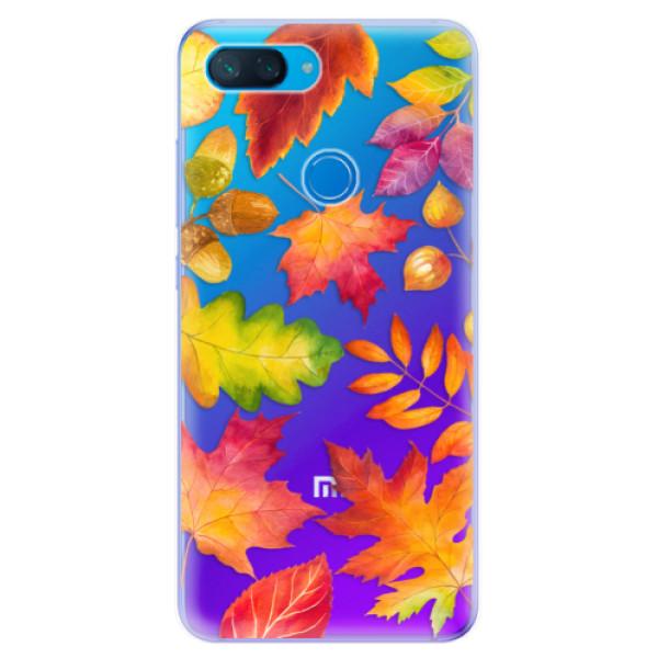 Odolné silikonové pouzdro iSaprio - Autumn Leaves 01 - Xiaomi Mi 8 Lite