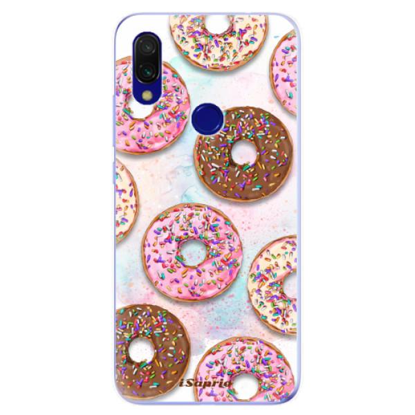 Odolné silikonové pouzdro iSaprio - Donuts 11 - Xiaomi Redmi 7