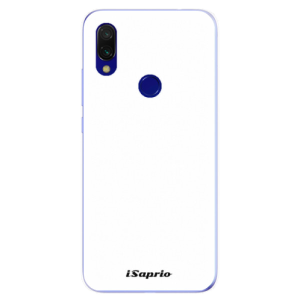 Odolné silikonové pouzdro iSaprio - 4Pure - bílý - Xiaomi Redmi 7