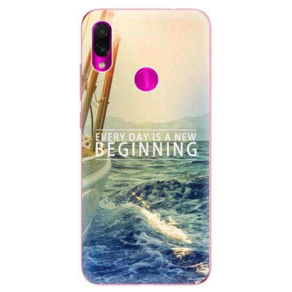Odolné silikonové pouzdro iSaprio - Beginning - Xiaomi Redmi Note 7