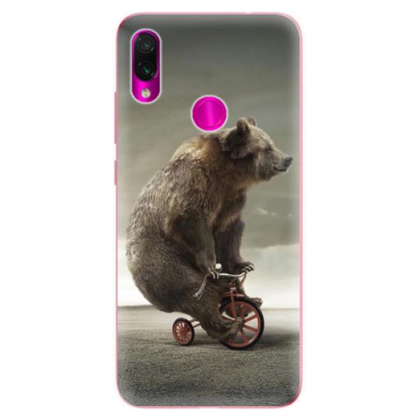 Odolné silikonové pouzdro iSaprio - Bear 01 - Xiaomi Redmi Note 7