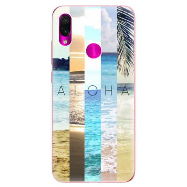 Odolné silikonové pouzdro iSaprio - Aloha 02 - Xiaomi Redmi Note 7