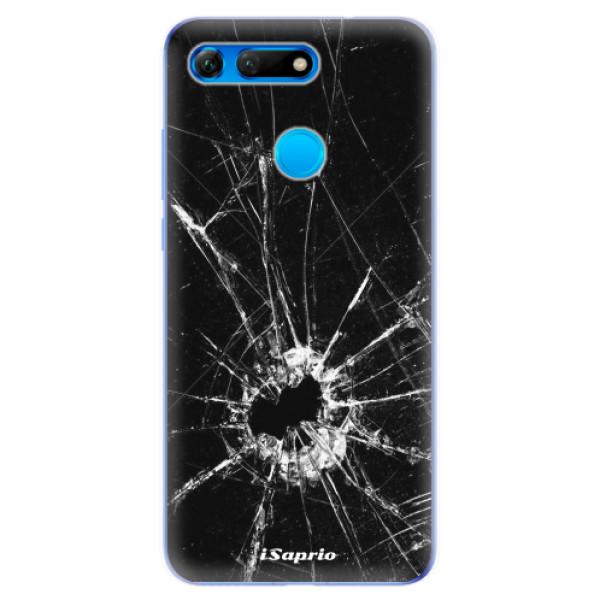 Odolné silikonové pouzdro iSaprio - Broken Glass 10 - Huawei Honor View 20