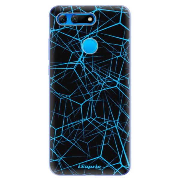 Odolné silikonové pouzdro iSaprio - Abstract Outlines 12 - Huawei Honor View 20