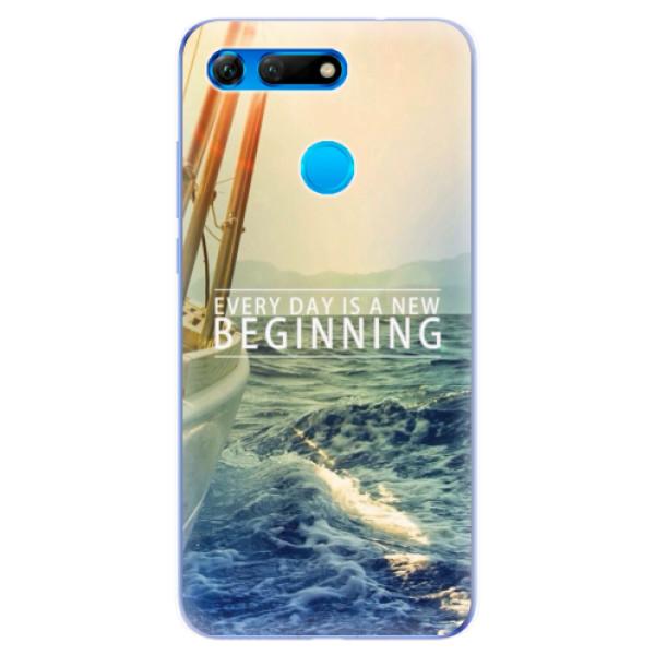 Odolné silikonové pouzdro iSaprio - Beginning - Huawei Honor View 20