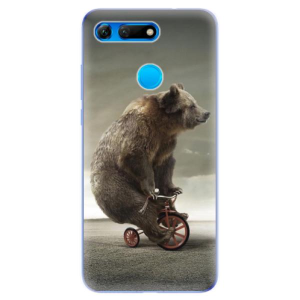 Odolné silikonové pouzdro iSaprio - Bear 01 - Huawei Honor View 20