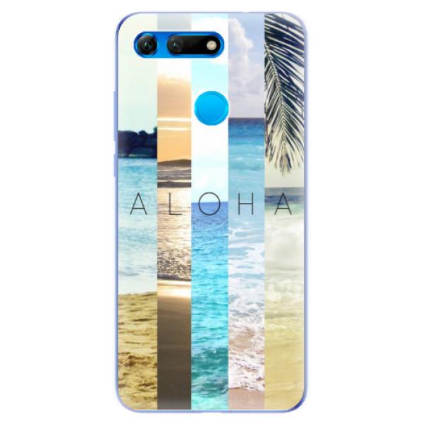 Odolné silikonové pouzdro iSaprio - Aloha 02 - Huawei Honor View 20