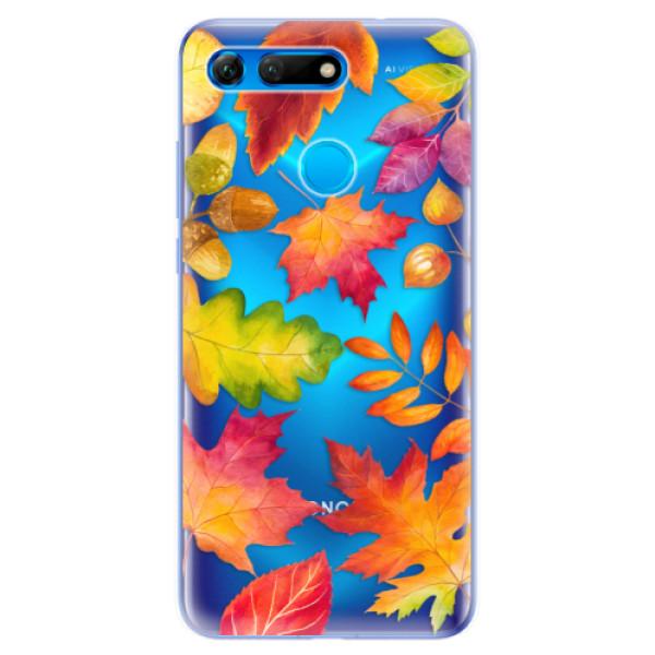 Odolné silikonové pouzdro iSaprio - Autumn Leaves 01 - Huawei Honor View 20