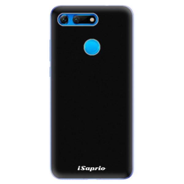 Odolné silikonové pouzdro iSaprio - 4Pure - černý - Huawei Honor View 20