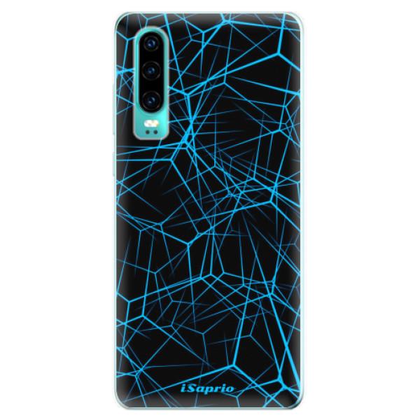 Odolné silikonové pouzdro iSaprio - Abstract Outlines 12 - Huawei P30