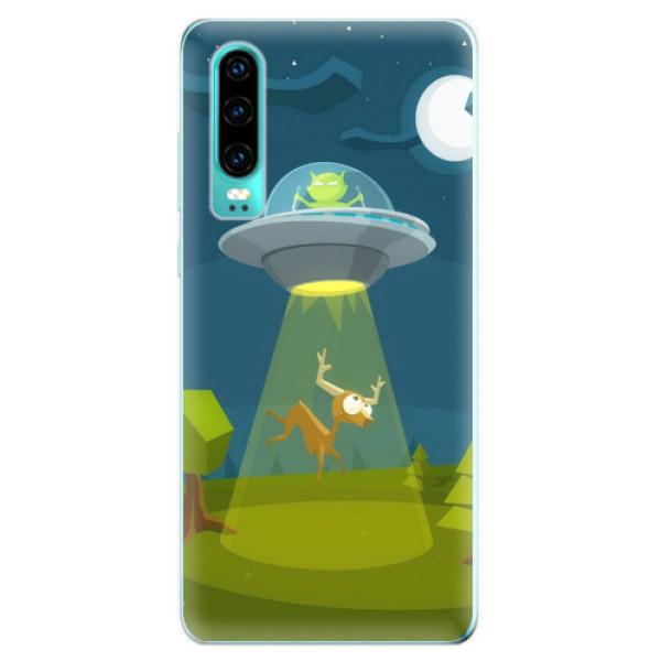 Odolné silikonové pouzdro iSaprio - Alien 01 - Huawei P30