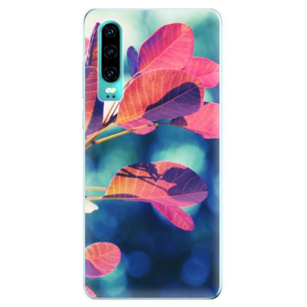 Odolné silikonové pouzdro iSaprio - Autumn 01 - Huawei P30
