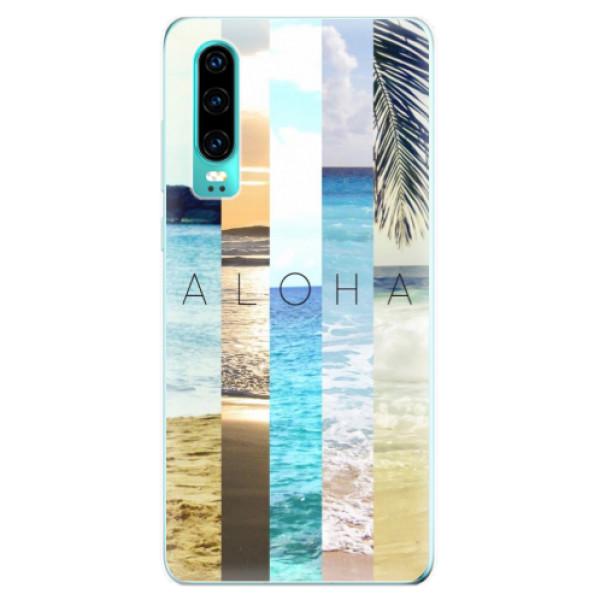 Odolné silikonové pouzdro iSaprio - Aloha 02 - Huawei P30