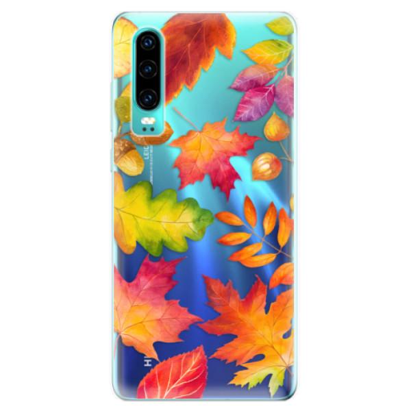 Odolné silikonové pouzdro iSaprio - Autumn Leaves 01 - Huawei P30