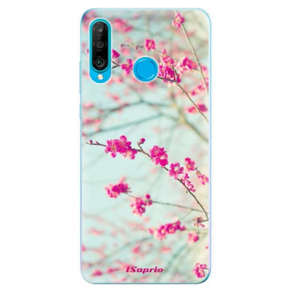 Odolné silikonové pouzdro iSaprio - Blossom 01 - Huawei P30 Lite