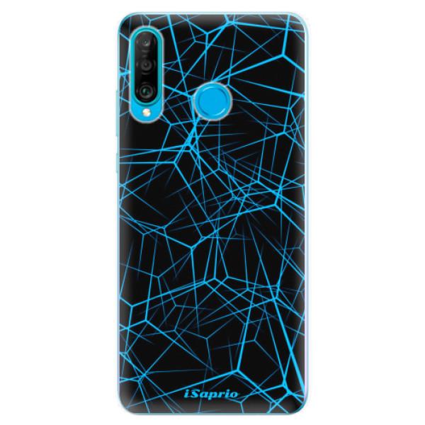 Odolné silikonové pouzdro iSaprio - Abstract Outlines 12 - Huawei P30 Lite