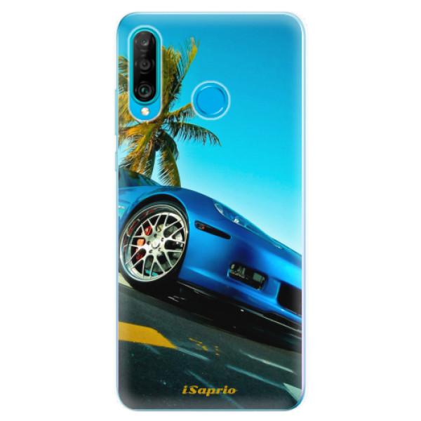 Odolné silikonové pouzdro iSaprio - Car 10 - Huawei P30 Lite