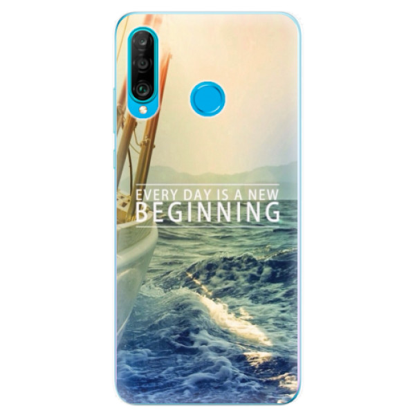 Odolné silikonové pouzdro iSaprio - Beginning - Huawei P30 Lite