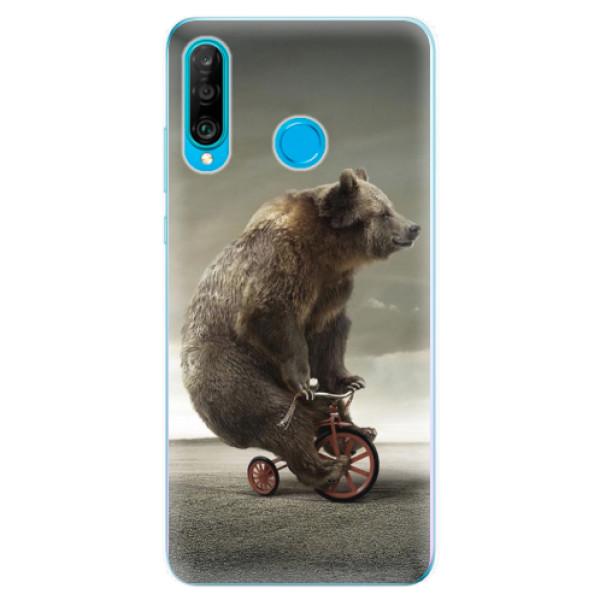 Odolné silikonové pouzdro iSaprio - Bear 01 - Huawei P30 Lite