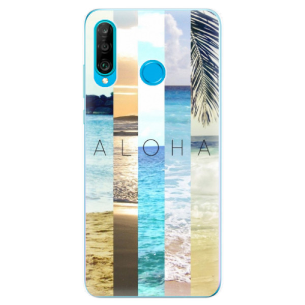 Odolné silikonové pouzdro iSaprio - Aloha 02 - Huawei P30 Lite